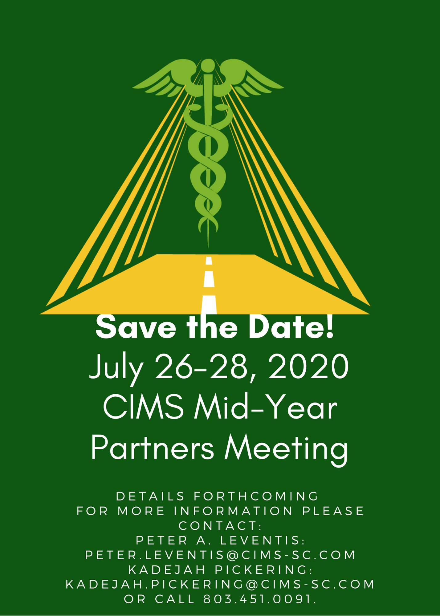 2020 Mid Year Partners Meeting Flyer