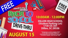 CareSouth Carolina hosts back to school drive-thru